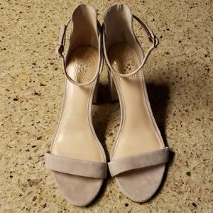 Vince Camuto Shoes - NWT Vince Camuto suede block heels